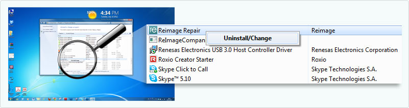 uninstall-reimage-uninstall